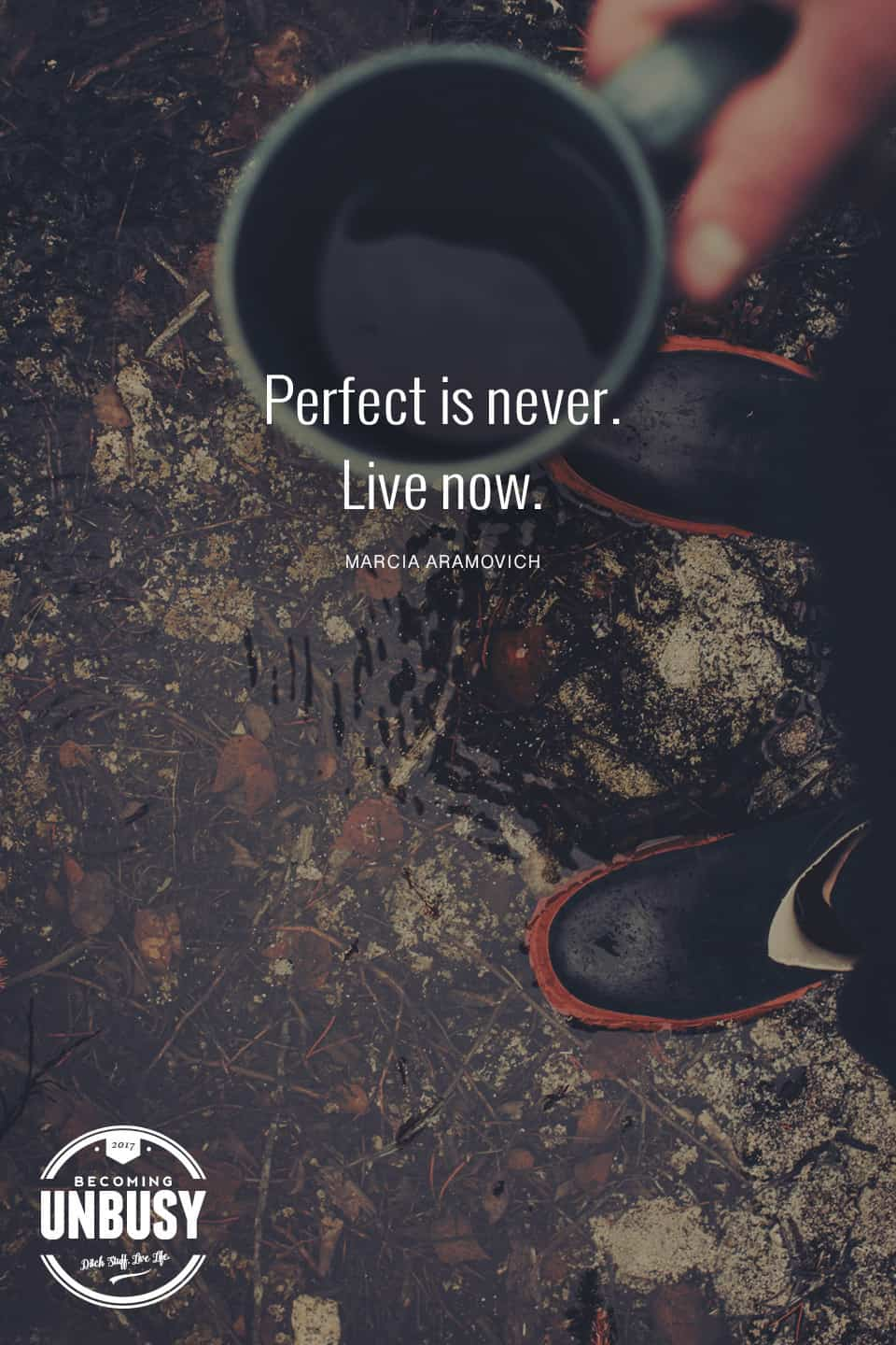 10 Good Morning Quotes - Perfect is never. Live now. #lifequotes #quotes #goodmorningquotes #coffeequotes *Start the day off right with these morning inspirational quotes. Love this good morning motivation!