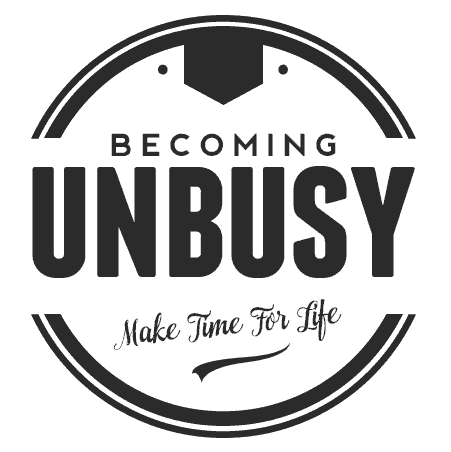 Becoming UnBusy