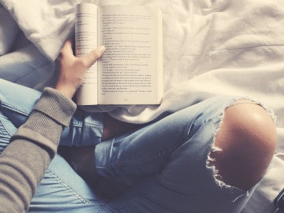 Love this article about the benefits of reading with science-backed reasons 'getting lost in a good book' is good for you